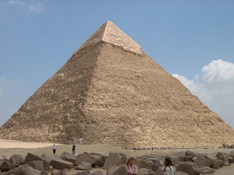 Great Pyramid of Giza. Photo: Jerome Bon from Paris, France