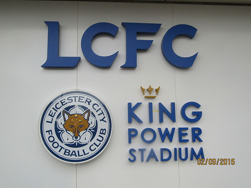 King Power Stadium. Photo: Pioeb via Wikimedia Commons