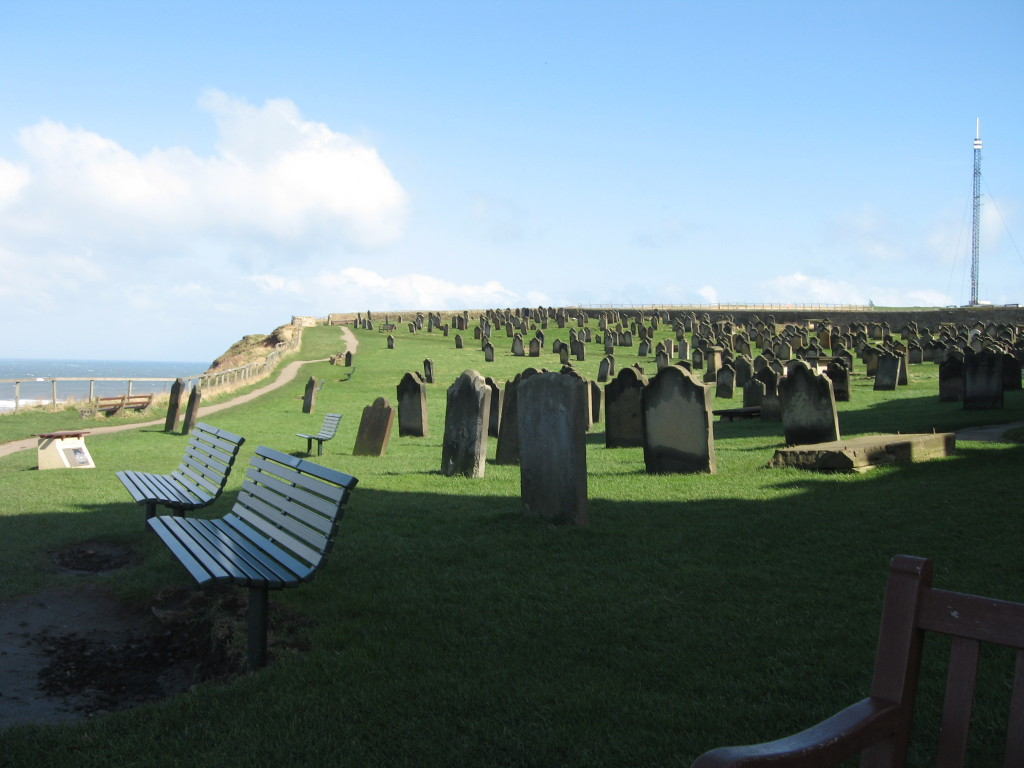 B2. Cemetary of St. Hildas church Whitby