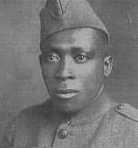 Sergeant Henry L. Johnson  Photo Credits: United States Army