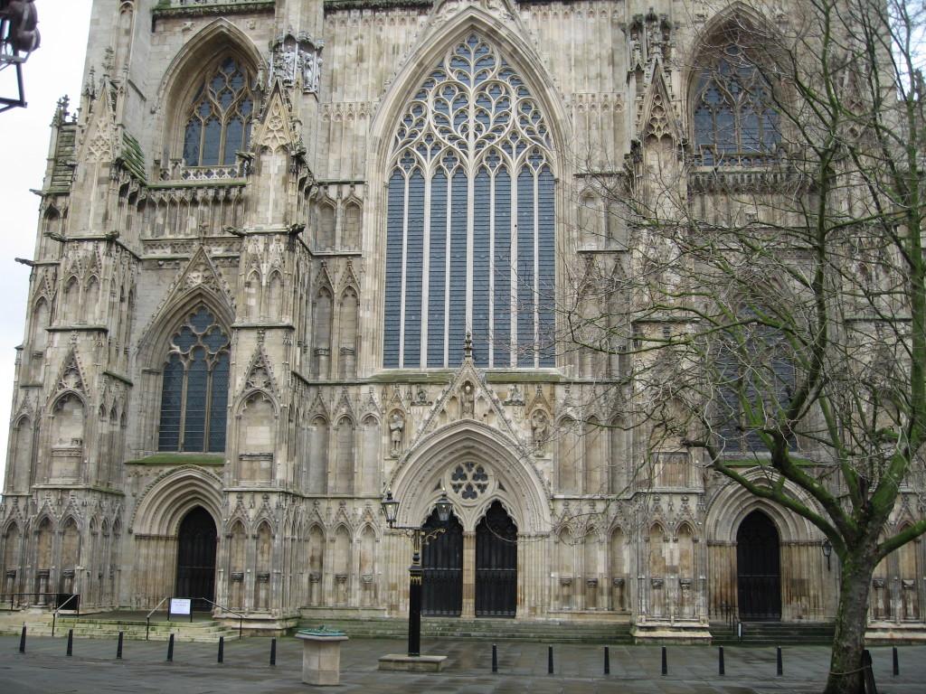 York Minster Entrance. Photo Credit: Cathy Hanson
