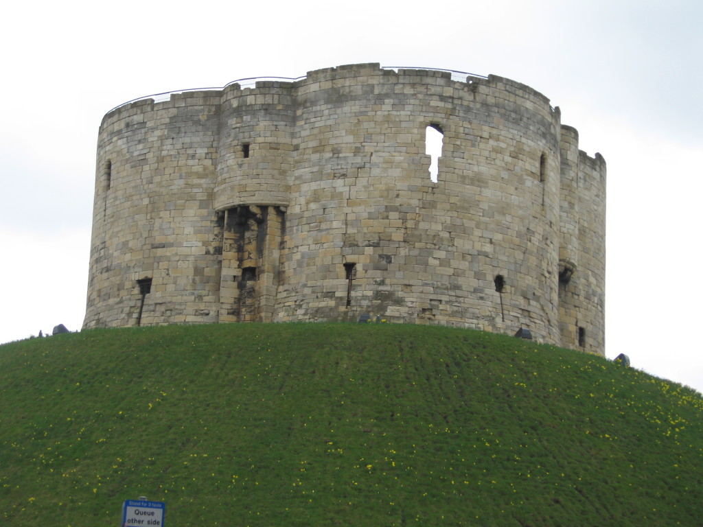 Clifford's Tower, York. Photo Credit: Cathy Hanson