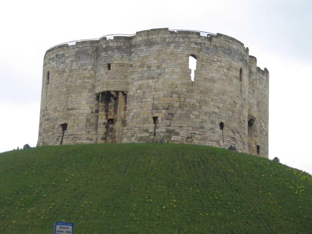 Clifford's Tower, York. Photo Credit: Cathy Hanson