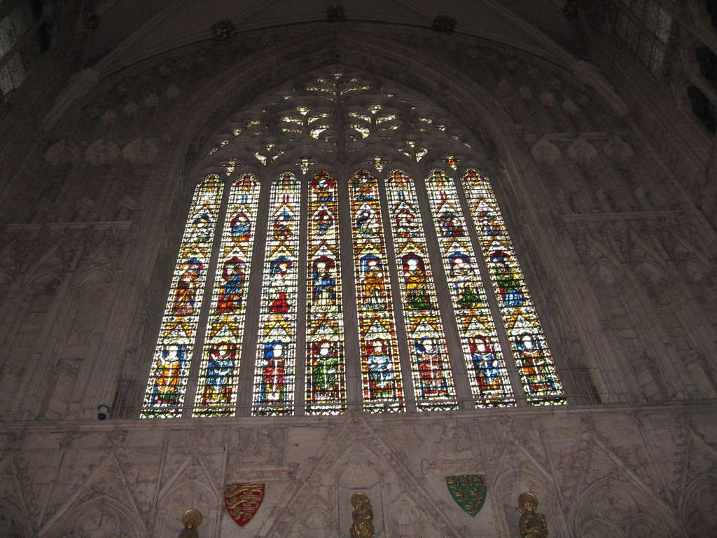Stained Glass Window, York Minster. Photo Credit: Cathy Hanson