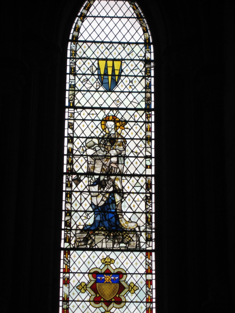 Stained Glass, York Minster. Photo Credit: Cathy Hanson