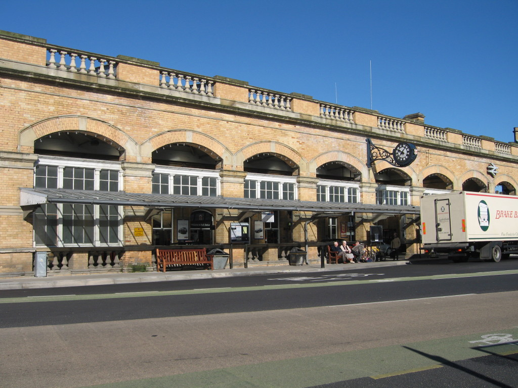 Really great rail station in York. Photo Credit: Cathy Hanson