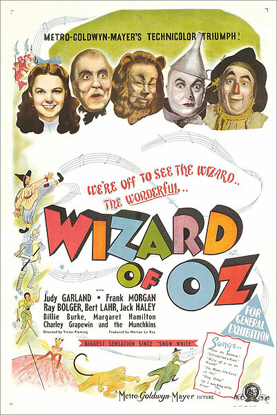 Movie poster, 1939.