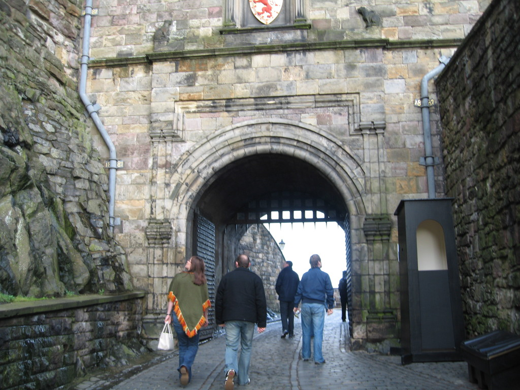 The gate into the Castle. Photo Credit: Cathy Hanson
