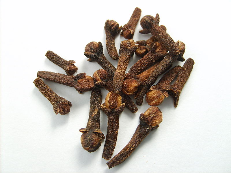 Dried cloves. Photo:  Jorge Barrios