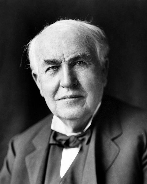 Thomas Alva Edison circa 1922. Photo: Wikimedia Commons