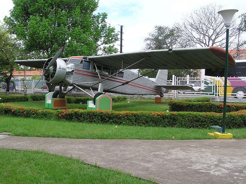 Jimmie Angel's plane. Photo via Wikimedia Commons