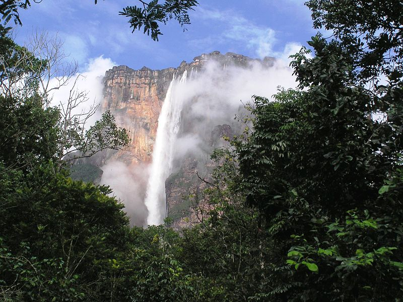 Angel Falls / Kerepakupai-meru. Photo via Wikimedia Commons