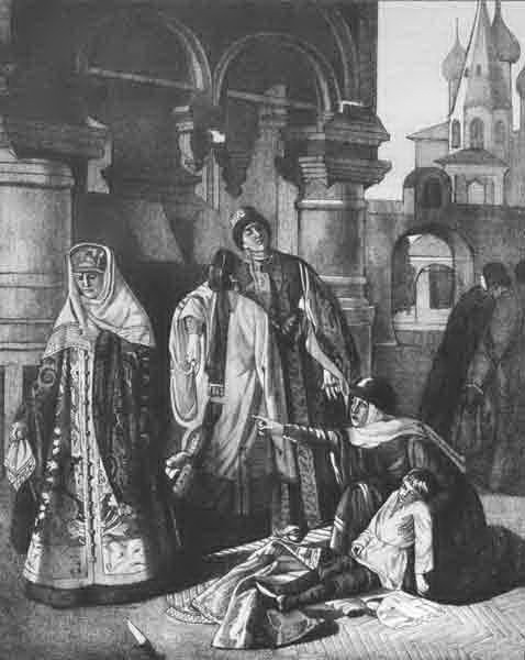 Death of Tsarevich Dmitry. Photo via Wikimedia Commons