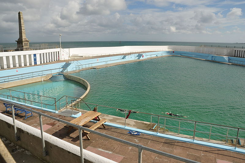 Jubilee Pool. Photo: Nilfanion via Wikimedia Commons