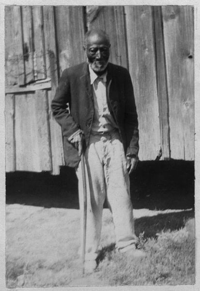 Photograph of George Dillard, age 85, former slave, from the Slave Narratives from the Federal Writers' Project, 1936–1938, Library of Congress, Washington, D.C. Photo via Wikimedia Commons