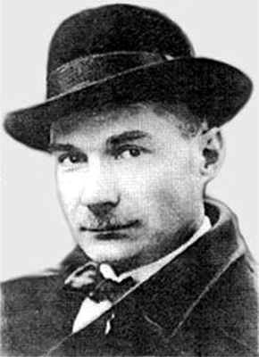 Zamjatin (1884-1937) around 1919. Photo source http://orwell.ru/people/zamyatin/img/ez01w.jpg via Wikimedia Commons