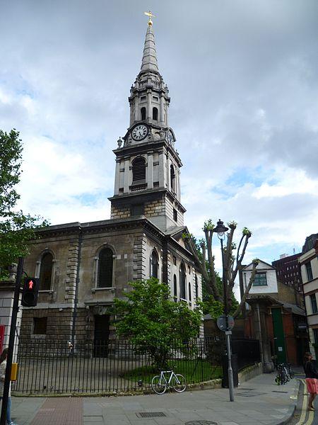St. Giles in the Fields. Photo: Philafrenzy via Wikimedia Commons