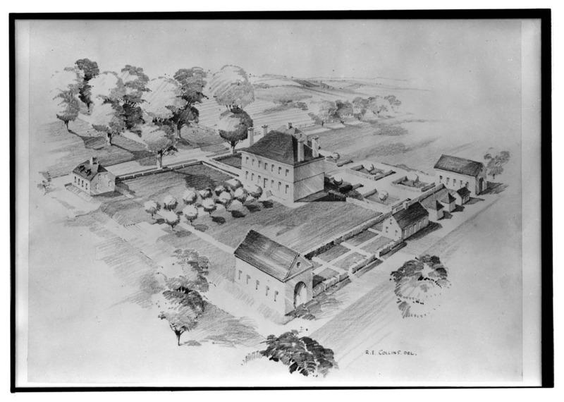 Long-time home of Robert Carter III, Nomoni Hall, Westmoreland County, VA. Photo via Wikimedia Commons