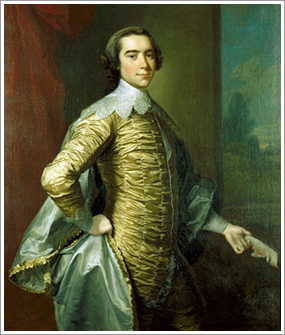Robert Carter III of Nomini Hall, painted by Thomas Hudson (1701–1779). Photo from the Virginia Historical Society via Wikimedia Commons